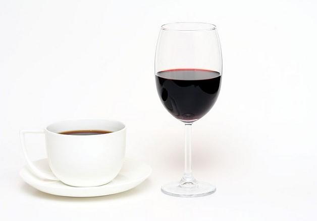 Кофе вино