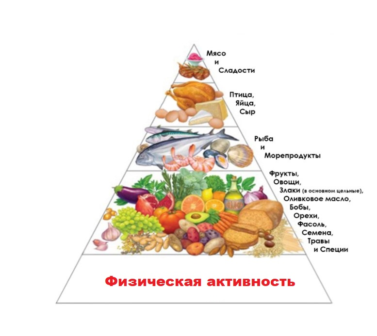 Пирамида диеты